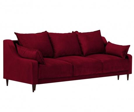 Freesia Red Háromszemélyes kihúzható kanapé