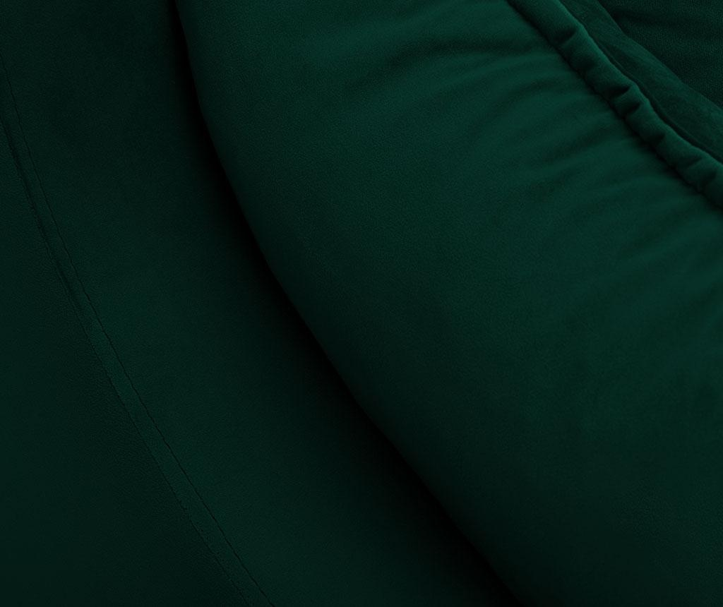 Canapea extensibila 3 locuri Freesia Bottle Green