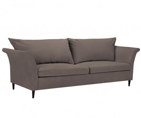 Peony Light Brown Háromszemélyes kihúzható kanapé
