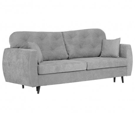 Popy Grey Háromszemélyes kihúzható kanapé