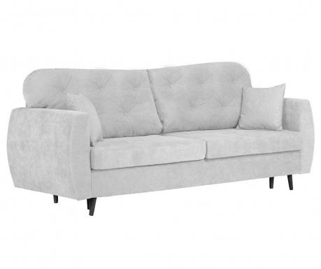 Popy Silver Háromszemélyes kihúzható kanapé