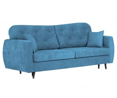 Popy Blue Háromszemélyes kihúzható kanapé