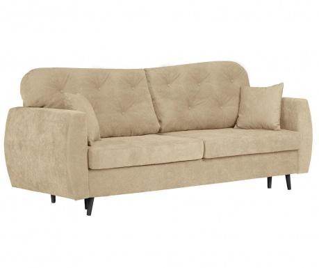 Popy Beige Háromszemélyes kihúzható kanapé