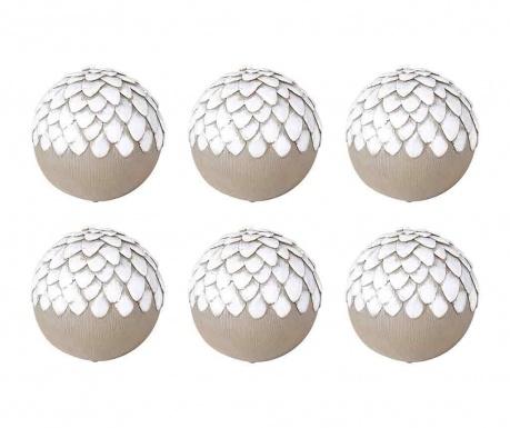 Set 6 decoratiuni Cones