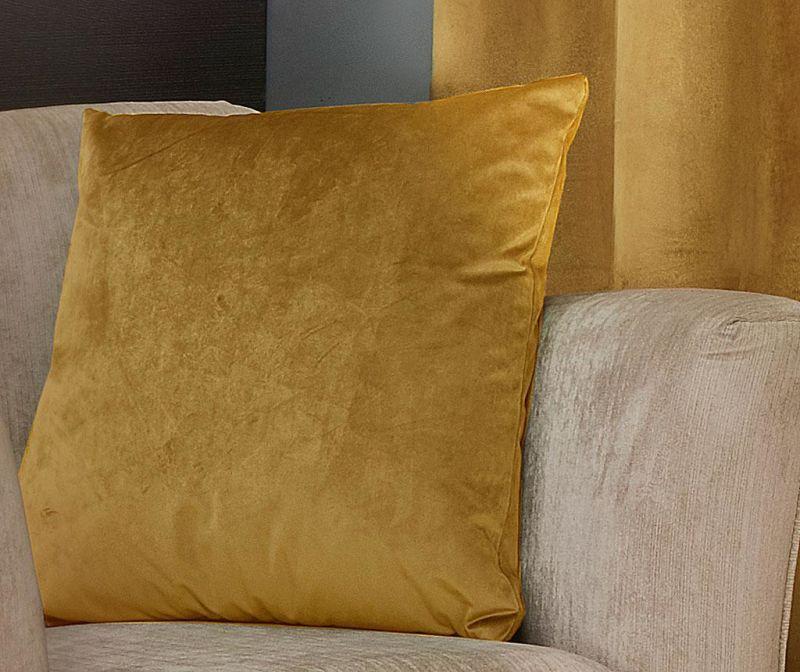 Fata de perna Lusso Saffron 43x43 cm