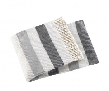 Pled Sweet Stripe Mid Grey 140x180 cm