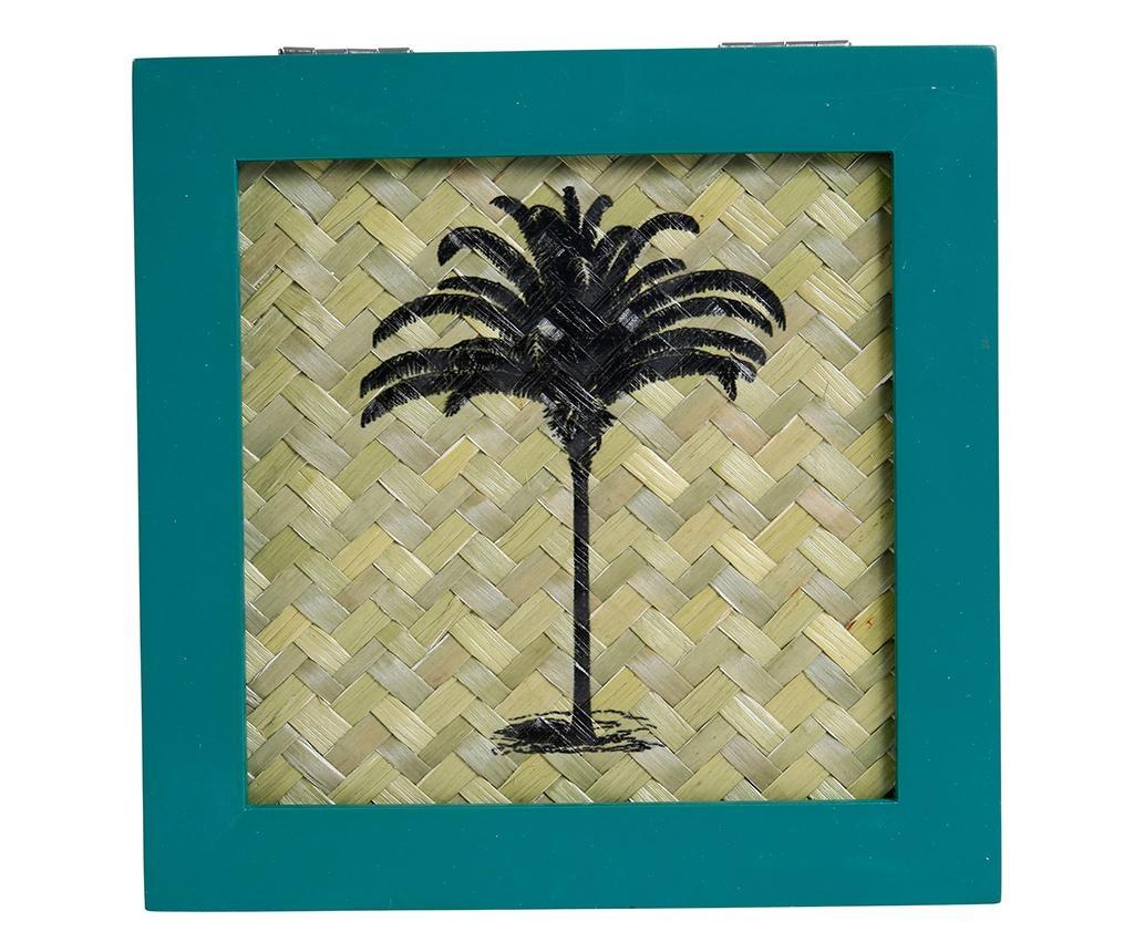 Tropical Vintage Natural Doboz fedővel