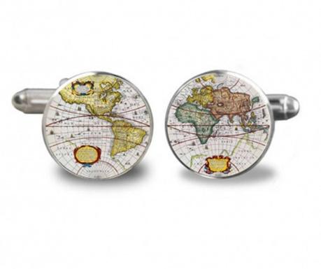 Butoni camasa World Map