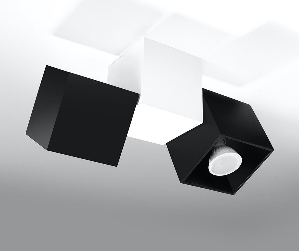 Plafoniera Lentes Three Black