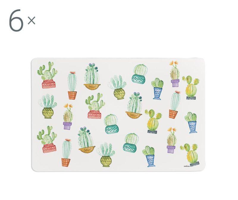 Cactus 6 db Tányéralátét 28.5x43 cm