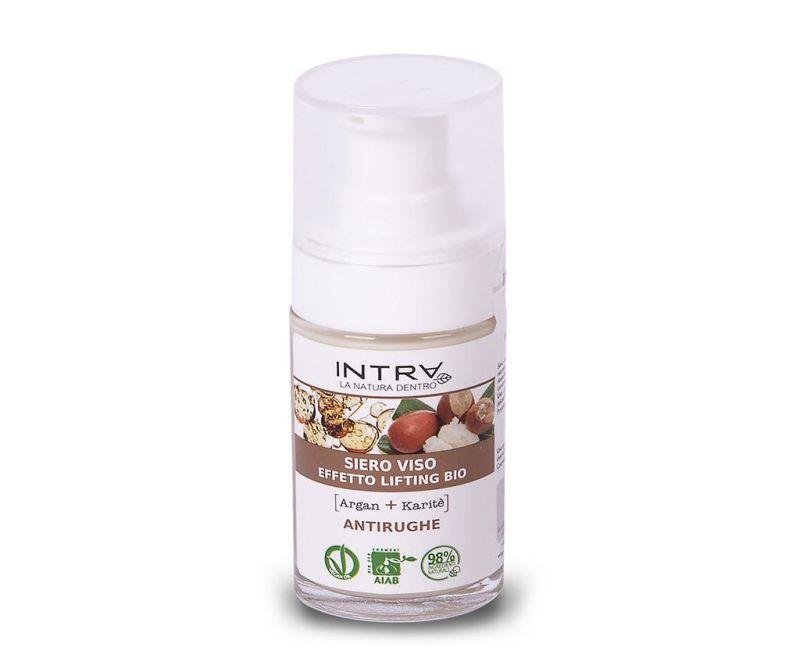 Organski serum s lifting efektom Smooth Argan&Shea Butter 30 ml