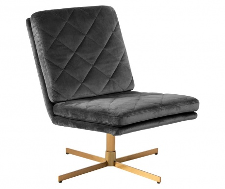 Въртящ стол Carrera Dark Grey