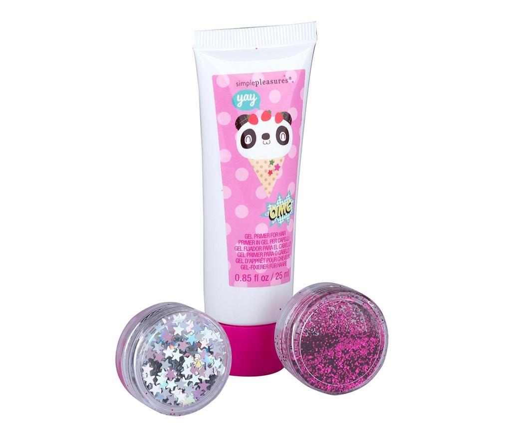 Set sjajni prah za kosu za djecu Fairy Hair