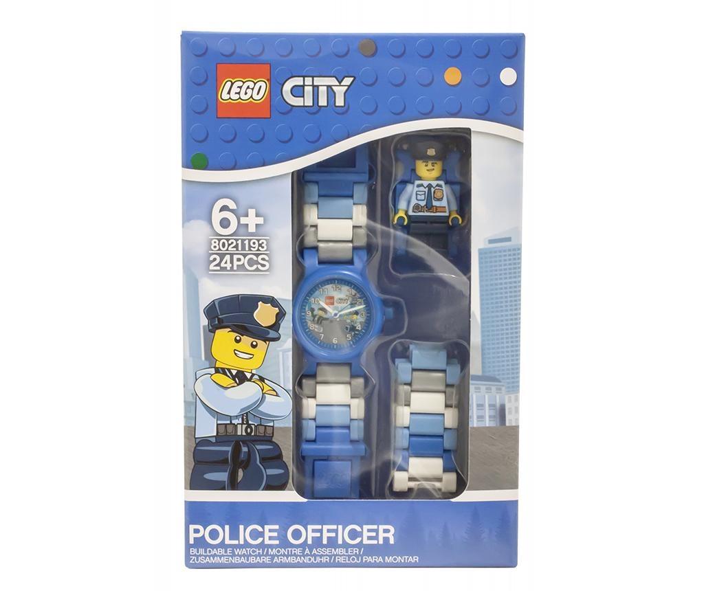 Otroška zapestna ura Lego City Police Officer