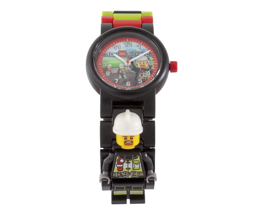 Ceas de mana copii Lego City Fire Fighter