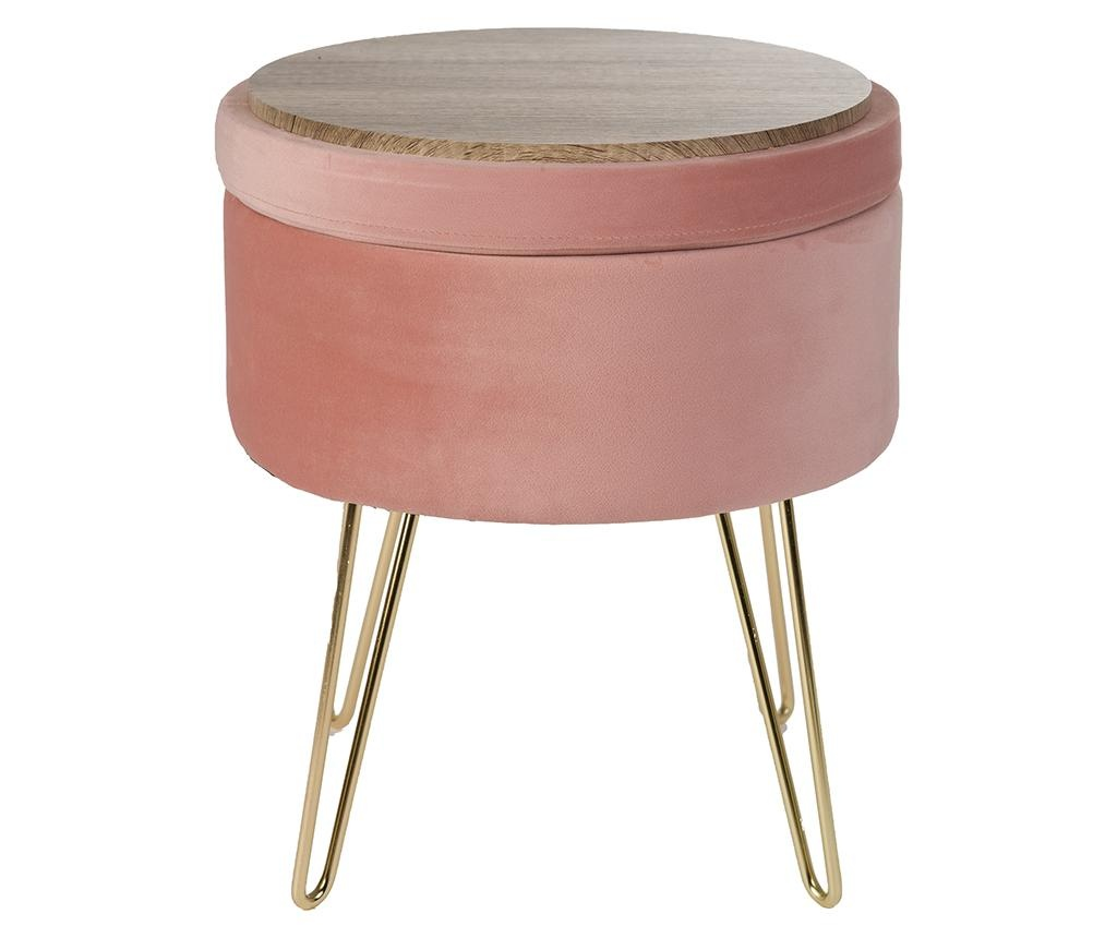 Scaunel Glamour Stool Powder Pink