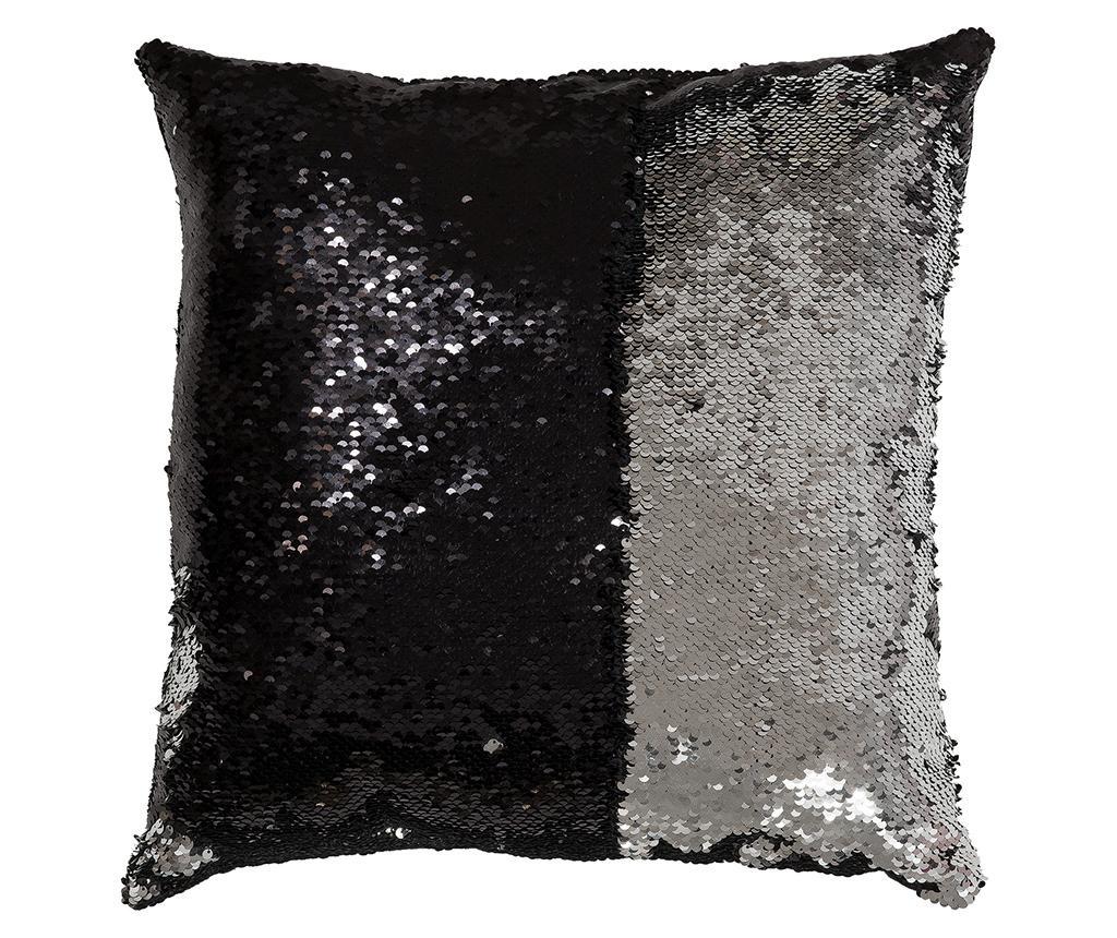 Okrasna blazina Bling Black 40x40 cm