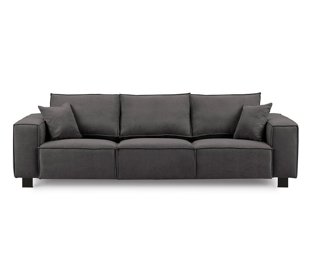 Canapea 3 locuri Modern Graphite