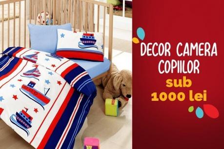 Redecorare camera copiilor sub 1000 RON