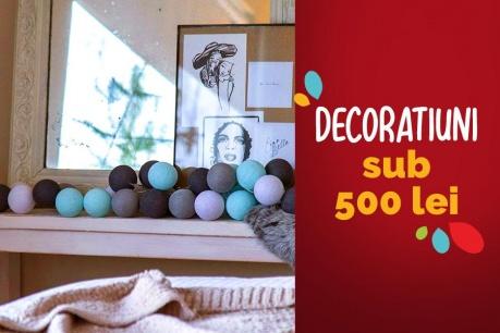 Obiecte decorative sub 500 RON