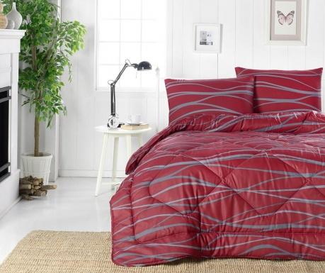 Πάπλωμα Verda Claret Red 195x215 cm