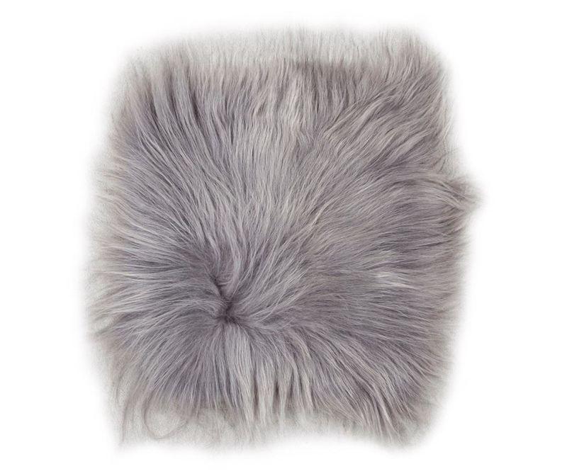 Sedežna blazina Lambskin Grey Brisa 37x37 cm