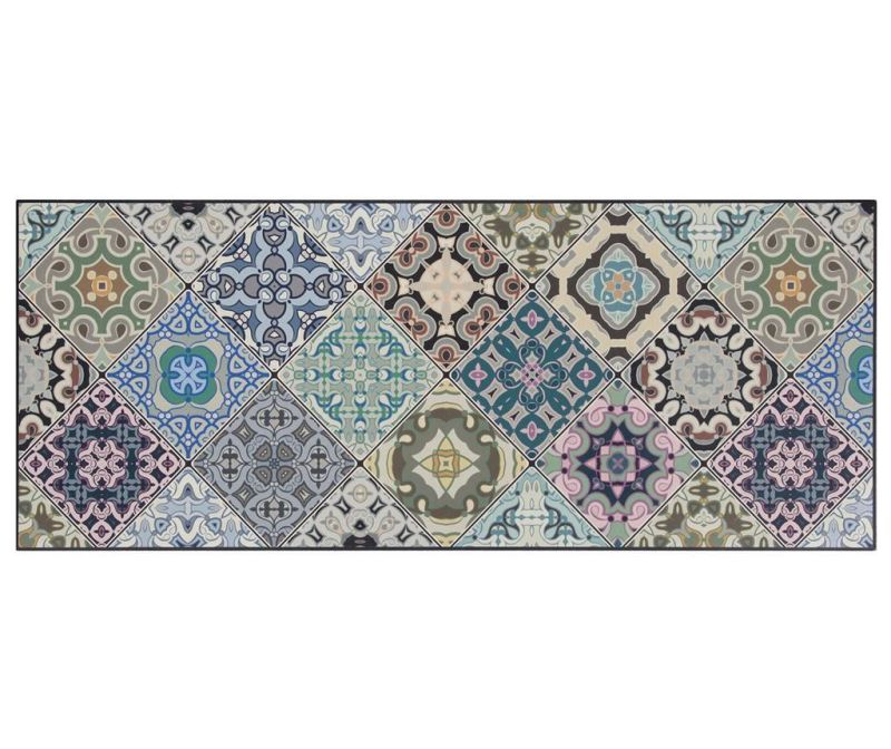 Linoleum Vista Morocoo Blue 50x120 cm