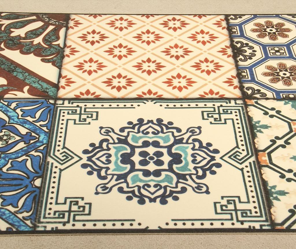 Linoleum Vista Eclectic Tiles 50x120 cm