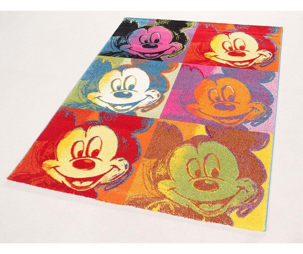 Preproga Disney Mickey Pop Art Patch 100x150 cm