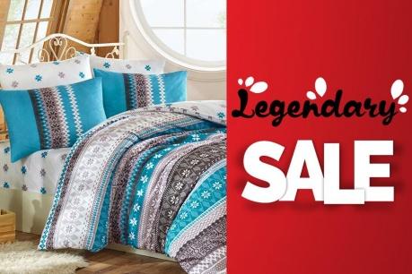 Legendary Sale: Textile pentru casa