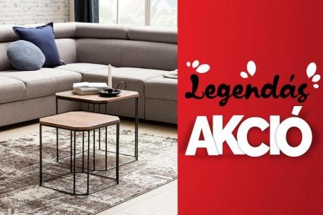 Legendás Akció:  Bútorok és kanapék
