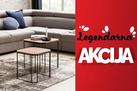 Legendarna Akcija: Pohištvo in kavči
