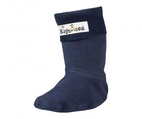 Ponožky pre detské čižmy do dažďa Navy