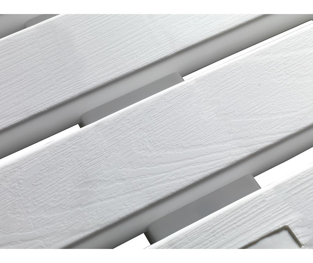 Килим за баня Duck White 55x55 см