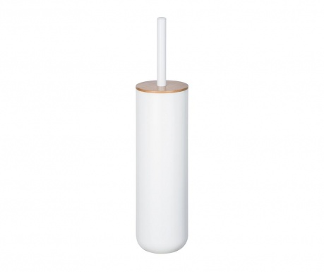 Βούρτσα τουαλέτας με θήκη Posa White
