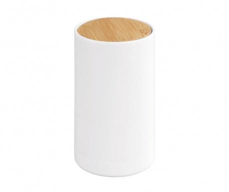 Κουτί με καπάκι για μπατονέτες Laresa White