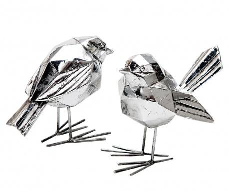 Σετ 2 διακοσμητικά Birdie