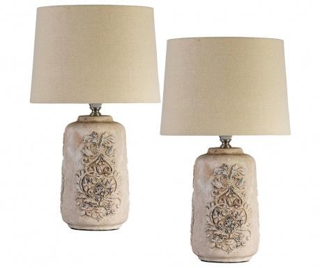 Комплект 2 нощни лампи Relief