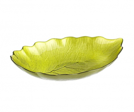 Patera dekoracyjna Leaf Green