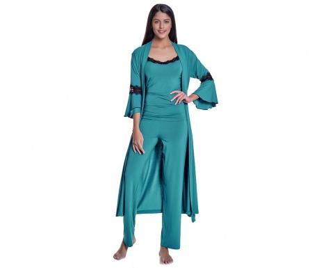 Комплект дамска пижама 3 части Morning Green