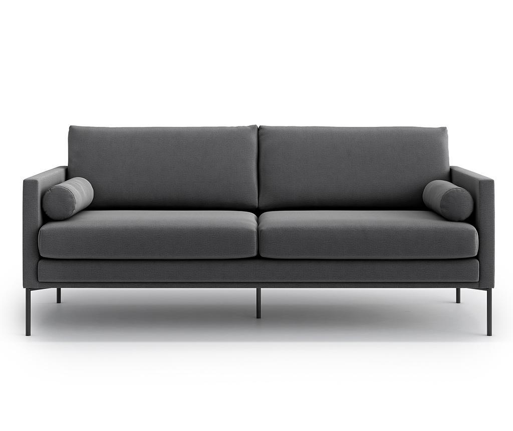 Canapea 3 locuri Blanca Monolith Grey