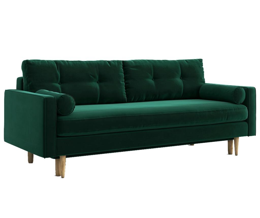 Kauč trosjed na razvlačenje Esme Riviera Green
