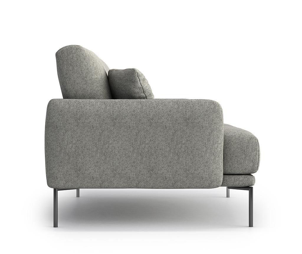 Canapea 2 locuri Ines Gusto Grey