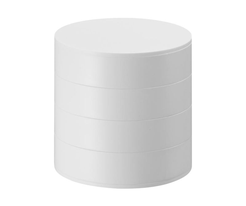 Škatla za nakit s pokrovom Tower White