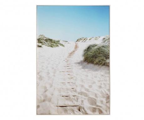 Картина Quiet Beach 80x120 см