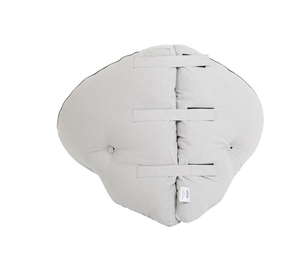 Dječje gnijezdo Mini Nido Light Grey 75x150 cm
