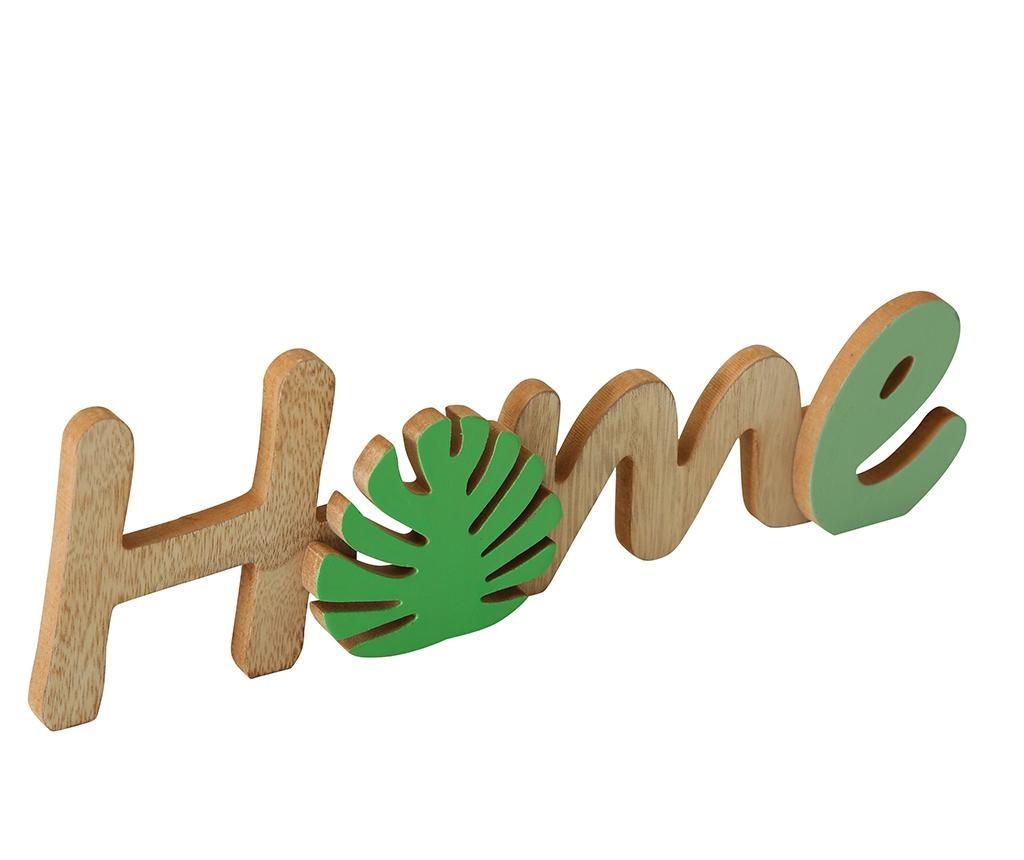 Decoratiune Home Dark Light Green