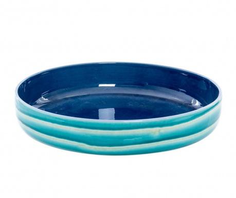 Miska dekoracyjna Waves Blue