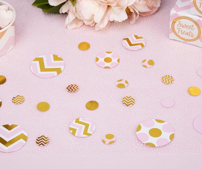 Set 100 barvnih konfetov Pattern Works Feli