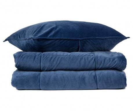 Zestaw na łóżko King Tasos  Blue